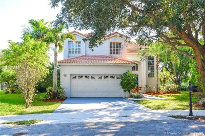 Parkland Single Family Home Active With Contract: 6000 NW 58th Way