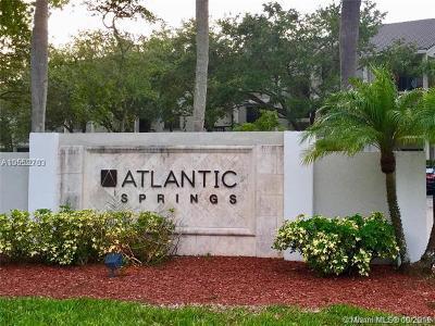 Coral Springs Condo For Sale: 11225 W Atlantic Blvd #202