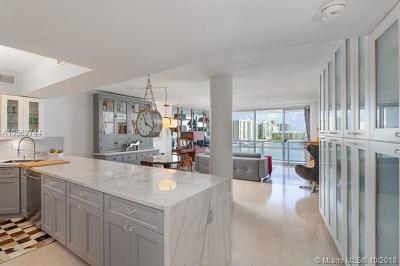 Miami Beach Condo For Sale: 900 Bay Dr #710