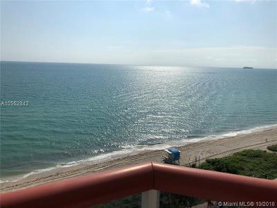 Miami Beach Condo For Sale: 6767 Collins Avenue #1209