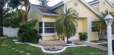 Davie Single Family Home For Sale: 1140 SW 110th Ter