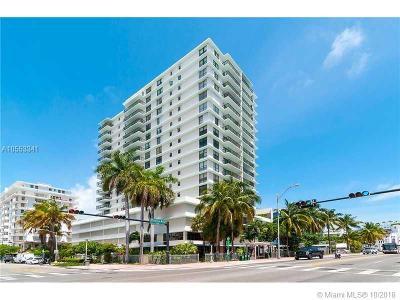 Miami Beach Condo For Sale: 1800 Collins Ave #18B
