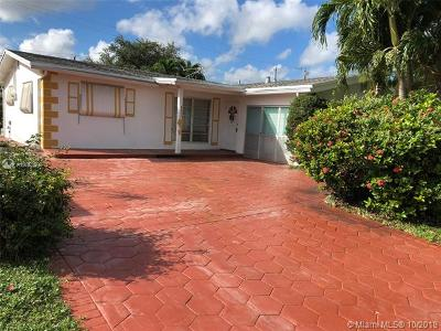 Sunrise Single Family Home For Sale: 8530 NW 28th St