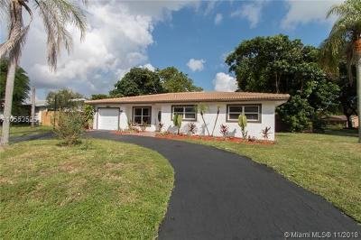 Fort Lauderdale Single Family Home For Sale: 3111 NW 68th Ct