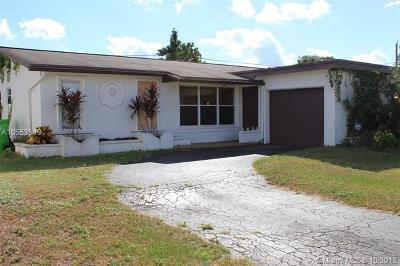 Sunrise Single Family Home For Sale: 11430 NW 29th Pl