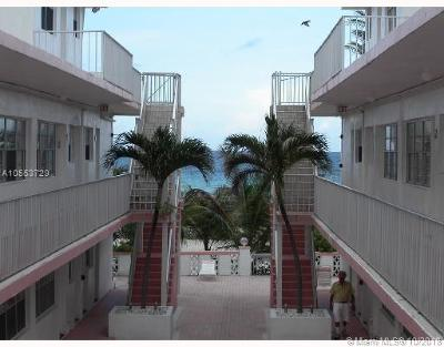 Surfside Condo For Sale: 9317 Collins Ave #17