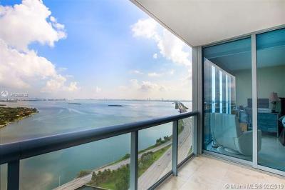 Blue Condo, Blue Condo - Waterfront, Blue Condominium Condo For Sale: 601 NE 36th St #3009