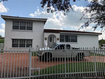 North Miami Single Family Home For Sale: 12505 N Miami Ave