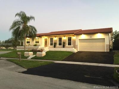 Cutler Bay Single Family Home For Sale: 8060 SW 205