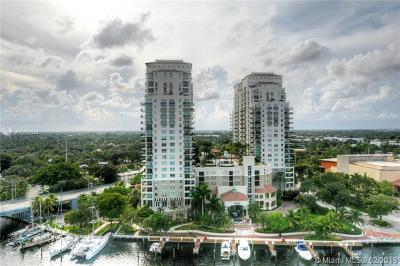 Fort Lauderdale Condo For Sale: 610 W Las Olas Blvd #1112N