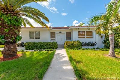 Miami Beach Single Family Home For Sale: 5350 Alton Rd