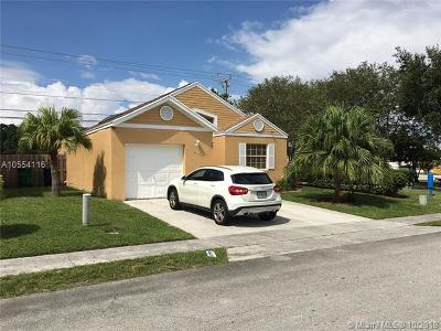 Miramar Single Family Home For Sale: 3650 Marlberry Ln