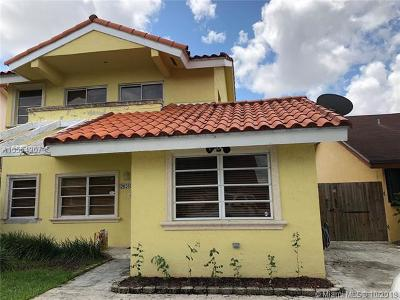 Miami Single Family Home For Sale: 9028 N Grand Canal Dr