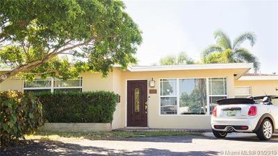 Wilton Manors Single Family Home For Sale: 832 NW 30th St