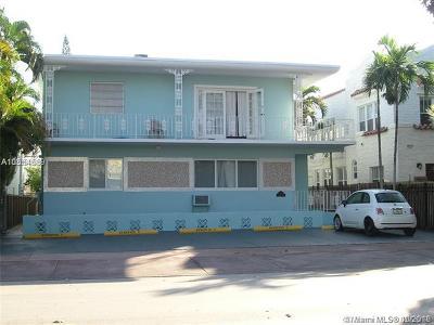 Miami Beach Condo For Sale: 945 Meridian Ave #8
