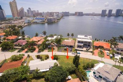 Sunny Isles Beach Single Family Home For Sale: 301 186th St
