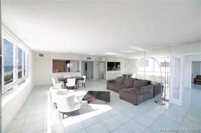 Miami Beach Condo For Sale: 5401 Collins Ave #601