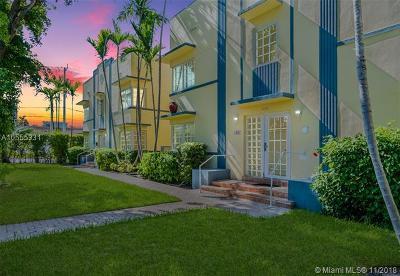 Miami Beach Condo For Sale: 600 Euclid Ave #B6