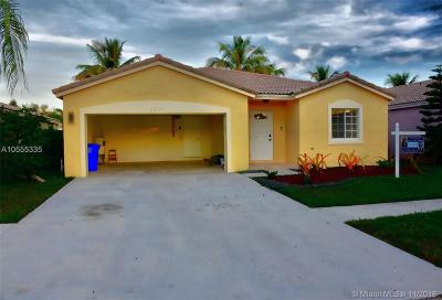 Miramar Single Family Home For Sale: 2231 SW 106th Ave