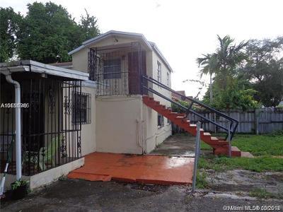 Miami FL Single Family Home For Sale: $255,000