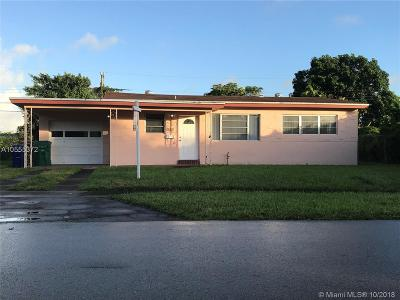 Miramar Single Family Home For Sale: 6513 SW 28th St