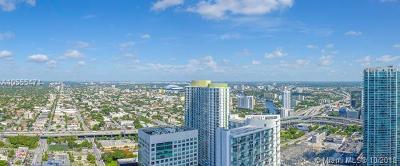 Miami-Dade County Condo For Sale: 88 SW 7th St #3701