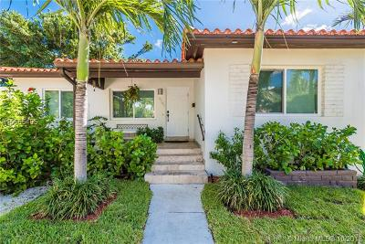 Miami Beach Single Family Home For Sale: 4541 Post Ave