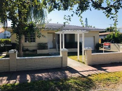Miami Beach Single Family Home For Sale: 630 W 51 Street