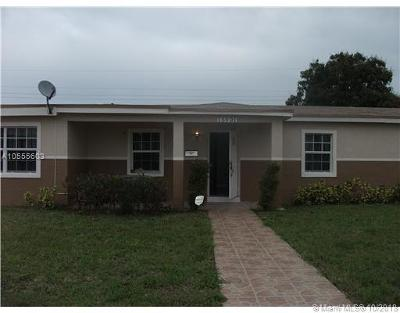 Opa-Locka Single Family Home For Sale: 15901 NW 18 Ct