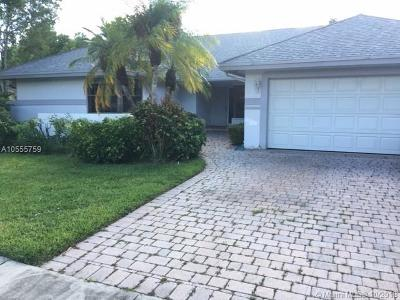 Cooper City Single Family Home For Sale: 5851 SW 88th Ter