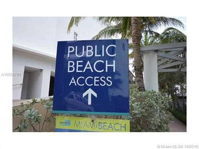 Miami Beach Single Family Home For Sale: 6000 Collins Ave