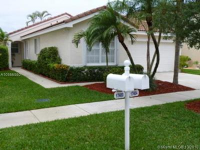 Miramar Single Family Home For Sale: 17404 SW 22nd St