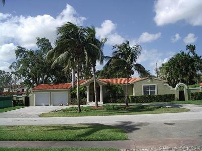 Coral Gables Single Family Home For Sale: 421 Luenga Ave