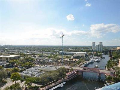 Fort Lauderdale Condo For Sale: 333 Las Olas Way #1207