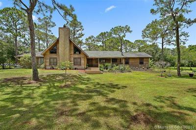 Jupiter Single Family Home For Sale: 18797 127th Dr N 18797