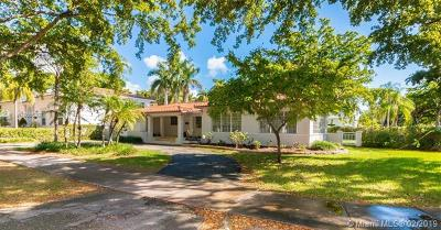 Coral Gables Single Family Home For Sale: 5211 Alhambra Cir