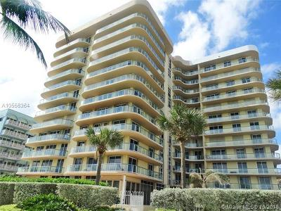 Surfside Condo For Sale: 8855 Collins Ave #6G