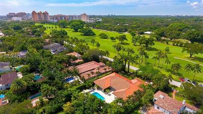 Coral Gables Single Family Home For Sale: 901 N Greenway Dr