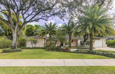 Coral Gables Single Family Home Active With Contract: 1140 S Alhambra Circle