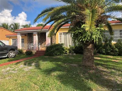 Hialeah Single Family Home For Sale: 65 W 60th St