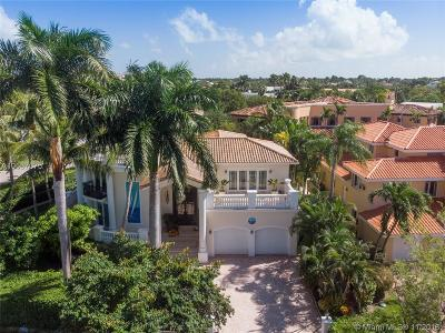 Key Biscayne Single Family Home For Sale: 475 Bay Ln