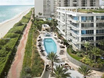 Miami Beach Condo For Sale: 6801 Collins Ave #615