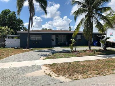 Pompano Beach Single Family Home For Sale: 2719 NE 2nd Ave