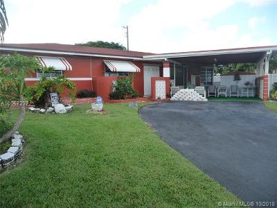 Miami Single Family Home For Sale: 20120 SW 114th Ct
