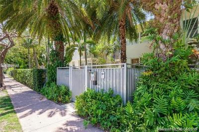 Miami Beach Condo For Sale: 1340 Drexel Ave #305