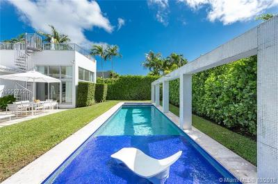 Miami Beach Single Family Home For Sale: 114 2 Rivo Alto Ter