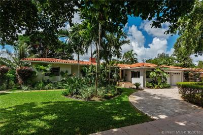 Coral Gables Single Family Home For Sale: 1700 Ferdinand St
