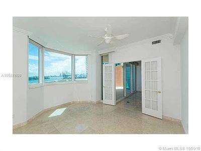 Miami Beach Condo For Sale: 300 S Pointe Dr #1002