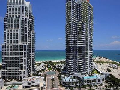 Miami Beach Condo For Sale: 100 S Pointe Dr #TH-13