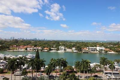 Miami Beach Condo For Sale: 5161 Collins Ave #1208